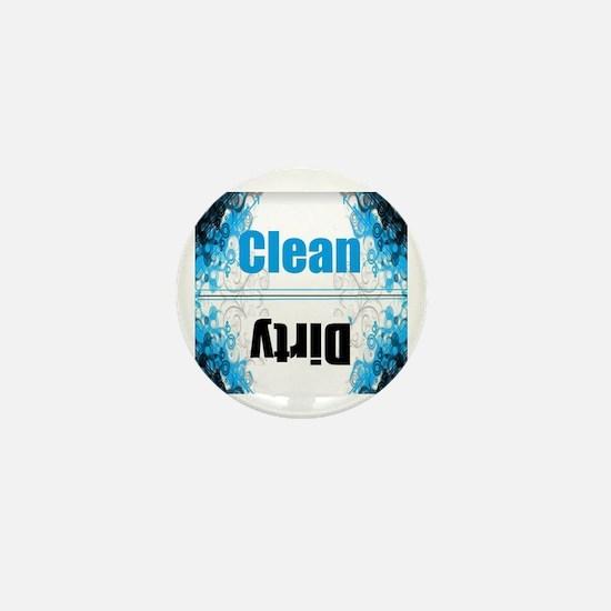 Cute Clean dirty Mini Button