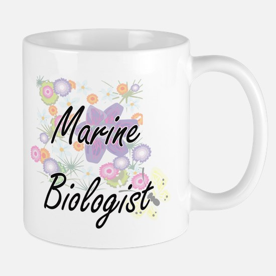 Marine Biologist Artistic Job Design with Flo Mugs