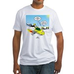 Skunk Jet Sled Fitted T-Shirt
