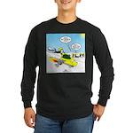 Skunk Jet Sled Long Sleeve Dark T-Shirt