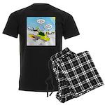 Skunk Jet Sled Men's Dark Pajamas