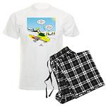 Skunk Jet Sled Men's Light Pajamas