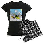 Skunk Jet Sled Women's Dark Pajamas