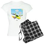 Skunk Jet Sled Women's Light Pajamas