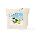 Skunk Jet Sled Tote Bag