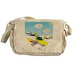 Skunk Jet Sled Messenger Bag