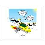 Skunk Jet Sled Small Poster