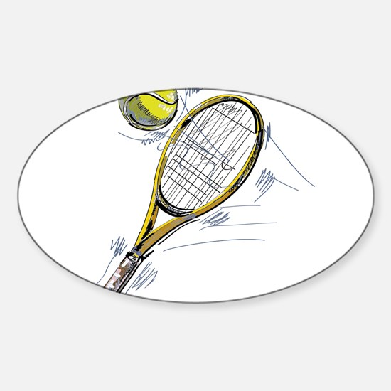 Tennis bat Decal