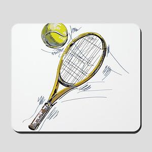 Tennis bat Mousepad
