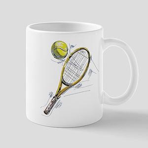 Tennis bat Mugs