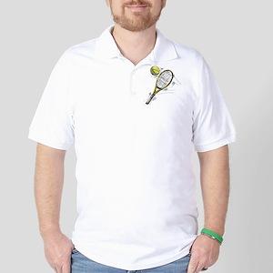 Tennis bat Golf Shirt