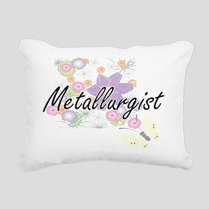 Metallurgist Artistic Jo Rectangular Canvas Pillow