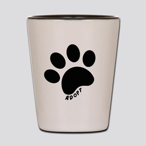 Adopt! Shot Glass