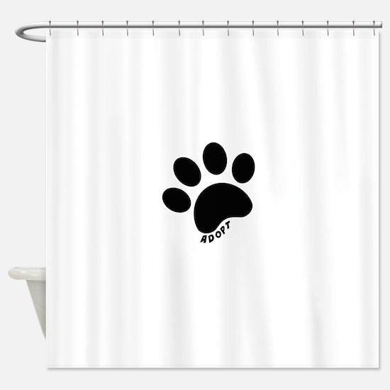 Adopt! Shower Curtain