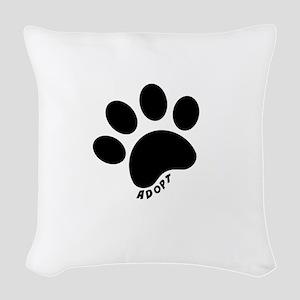 Adopt! Woven Throw Pillow