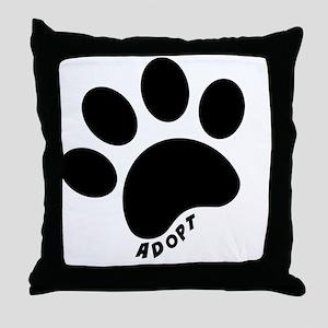 Adopt! Throw Pillow