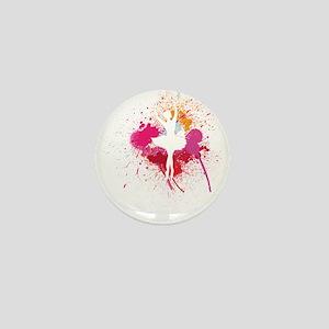 Ballerina Soul Mini Button