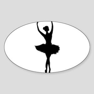 Ballerina B Sticker