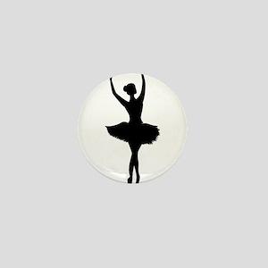Ballerina B Mini Button