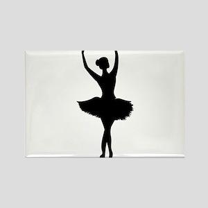 Ballerina B Magnets