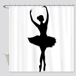 Ballerina B Shower Curtain