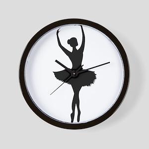 Ballerina B Wall Clock