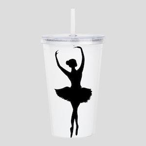 Ballerina B Acrylic Double-wall Tumbler