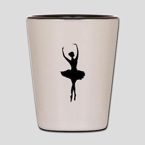 Ballerina B Shot Glass