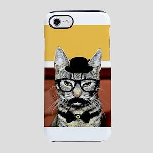 Hipster Cat iPhone 8/7 Tough Case