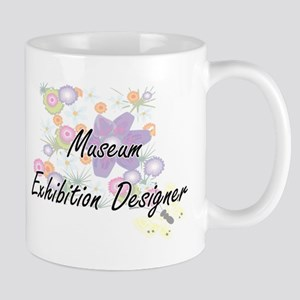 Museum Exhibition Designer Artistic Job Desig Mugs