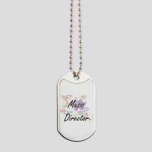 Music Director Artistic Job Design with F Dog Tags