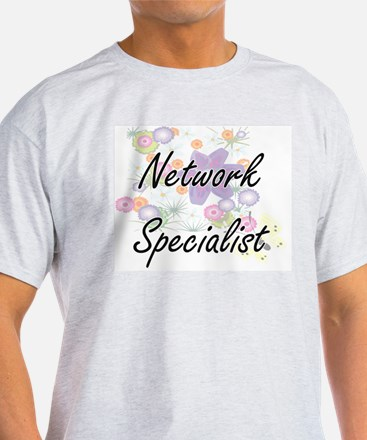 Network Specialist Artistic Job Design wit T-Shirt