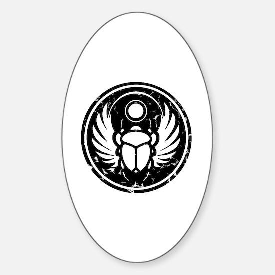 Cute Obama symbol Sticker (Oval)