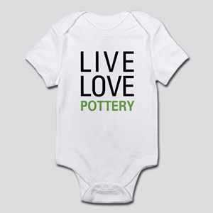Live Love Pottery Infant Bodysuit