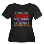 powerlifter Plus Size T-Shirt