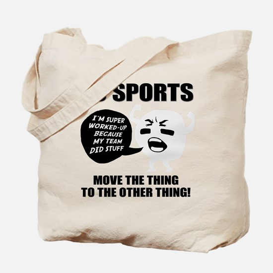 Go Sports!! Tote Bag