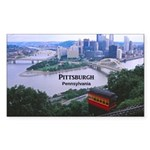 Pittsburgh Sticker (Rectangle 10 pk)
