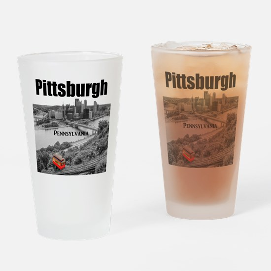 Pittsburgh Drinking Glass