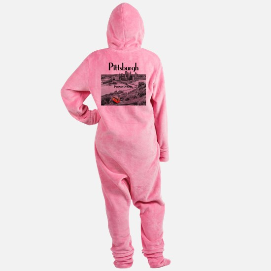 Pittsburgh Footed Pajamas