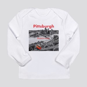 Pittsburgh Long Sleeve Infant T-Shirt
