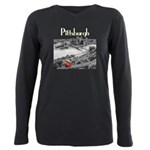 Pittsburgh Plus Size Long Sleeve Tee