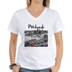 Pittsburgh Women's V-Neck T-Shirt