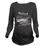 Pittsburgh Long Sleeve Maternity T-Shirt