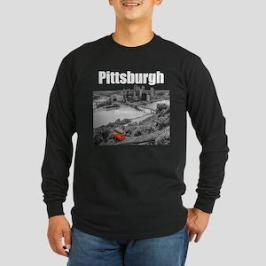 Pittsburgh Long Sleeve Dark T-Shirt