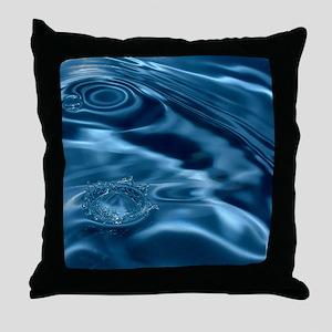 WATER RIPPLES 1 Throw Pillow