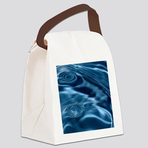 WATER RIPPLES 1 Canvas Lunch Bag