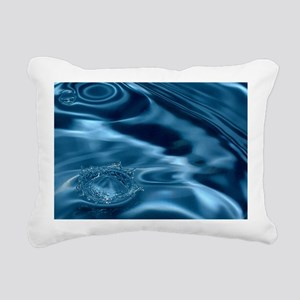 WATER RIPPLES 1 Rectangular Canvas Pillow
