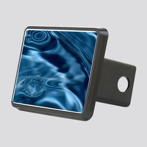 WATER RIPPLES 1 Rectangular Hitch Cover