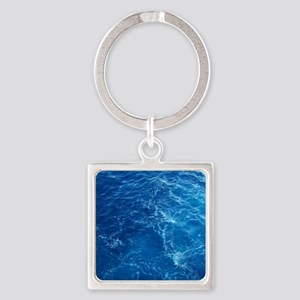 PACIFIC OCEAN Square Keychain