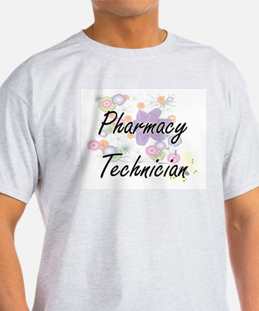 Pharmacy Technician Artistic Job Design wi T-Shirt